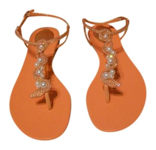 Preload https://img-static.tradesy.com/item/20195756/rene-caovilla-orange-swarovski-crystal-snakefaux-pearl-vamp-satin-sandals-size-eu-40-approx-us-10-re-0-1-540-540.jpg