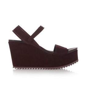 Pedro Garcia Burgundy Wedges
