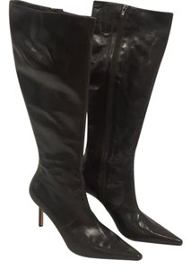 Isaac Mizrahi Dark Brown Boots
