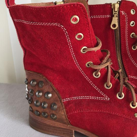 World of Luka Red Boots