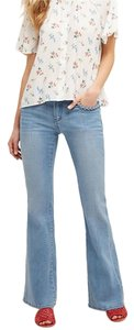 Other Flare Leg Jeans-Light Wash