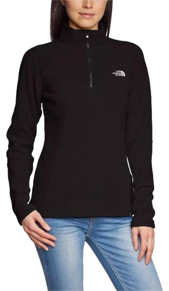 62c95f1f1c2af The North Face Women s 100 Glacier 1 4 Zip Fleece Jacket Size 4 (S ...