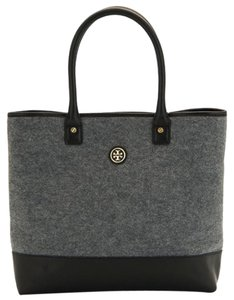 Tory Burch Winter Flannel Tote in Gray