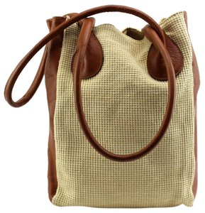 Italy Handmade Tote in Brown
