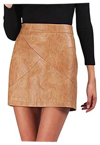Wild Orchid Boutique Skirt CAMEL