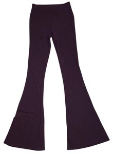 Forever 21 Super Flare Pants Maroon