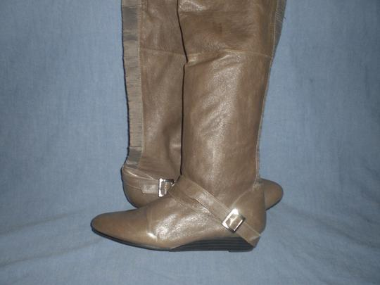 Chinese Laundry gray Boots