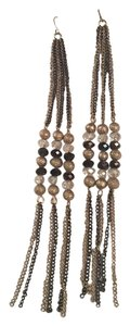 Gloria Vanderbilt Gloria Vanderbilt bead link earrings