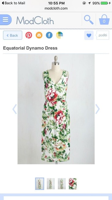 Multi-Floral Maxi Dress by Modcloth