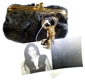 Baby Phat Faux Fur Coin Purse