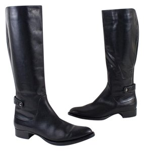 Aquatalia by Marvin K. Italy Leather Black Boots