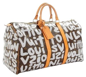 Louis Vuitton Vuitton Keepall Vuitton Graffiti Graffiti Keepall Keepall Travel Bag