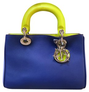 Dior Small Satchel in blue