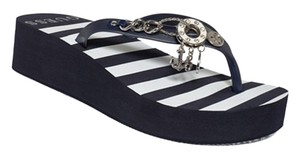 Guess Black/White Sandals
