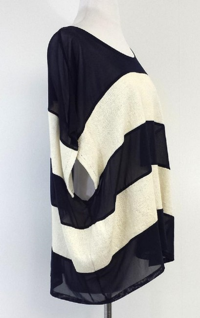 Opening Ceremony Striped Top Navy & Cream