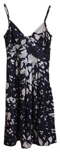 American Eagle Outfitters short dress Navy & white on Tradesy