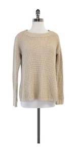 Joie Cream Chunky Knit Sweater