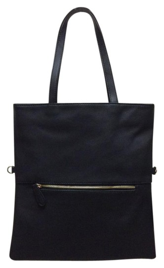 Preload https://img-static.tradesy.com/item/20196839/forever-21-black-faux-leather-tote-0-1-540-540.jpg