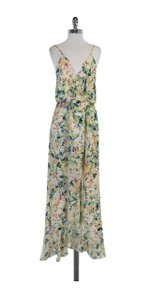 Maxi Dress by Parker Multi Color Silk Maxi