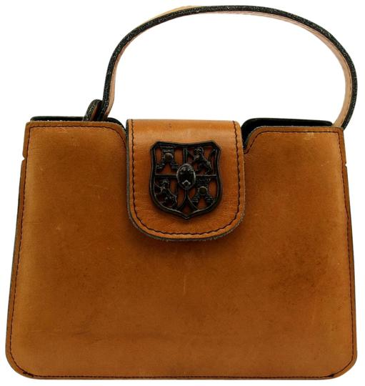 Preload https://img-static.tradesy.com/item/20196849/saddle-small-purse-vintage-brown-leather-satchel-0-1-540-540.jpg