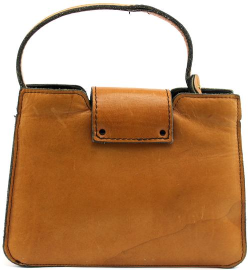Margolin Vintage Classic Satchel in Brown
