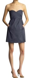 Tibi short dress Demin on Tradesy