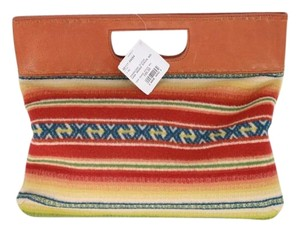 Pendleton Casa Stripe Multicolored Clutch