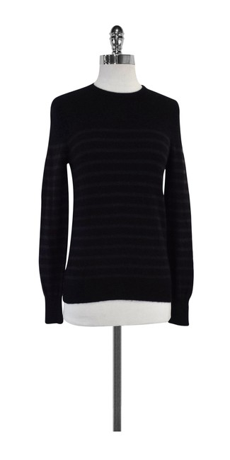 Preload https://img-static.tradesy.com/item/20196886/steven-alan-black-and-brown-striped-cashmere-sweaterpullover-size-4-s-0-0-650-650.jpg