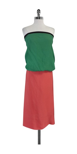 Preload https://img-static.tradesy.com/item/20196913/marni-multicolor-green-and-salmon-color-block-strapless-knee-length-short-casual-dress-size-4-s-0-0-650-650.jpg