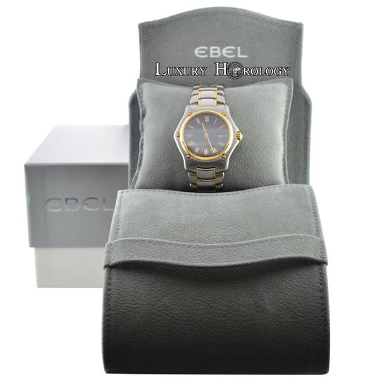 Ebel Mint Authentic Ladies Ebel 1911 Ref 187902 Steel 18K Gold 32mm Date