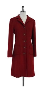 Max Mara Red Wool Coat