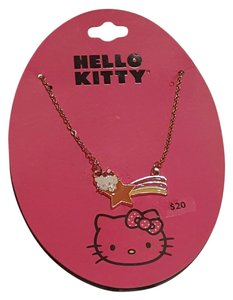 Sanrio Hello Kitty by Sanrio Gold Plated Pendant Necklace
