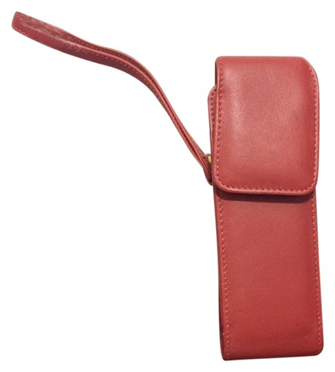Preload https://img-static.tradesy.com/item/20197144/coach-red-leather-vintage-phone-wristlet-case-tech-accessory-0-1-540-540.jpg