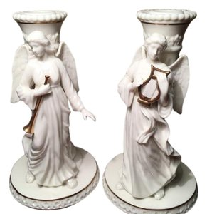 Other Lenox Heavenly Angel Christmas Candlesticks