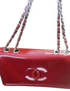 Chanel Multicolor Patent Leather Cross Body Bag