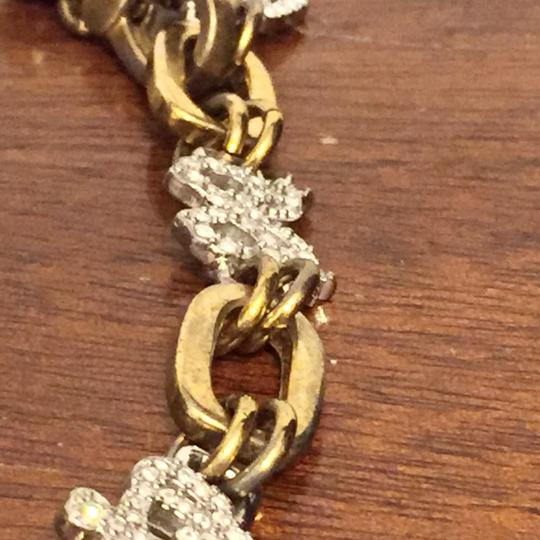 Juicy Couture Vintage Juicy Couture Stainless Steel Charm Bracelet Logo Icon