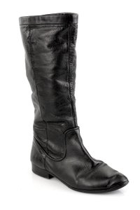 Frye Slouch Cindy Slouch Cindy Leather Black Boots