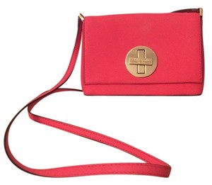Kate Spade Pink Leather Cross Body Bag
