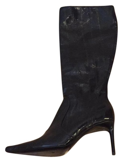 Preload https://img-static.tradesy.com/item/20197348/dolce-and-gabbana-black-eel-skin-high-385-bootsbooties-size-us-85-regular-m-b-0-1-540-540.jpg