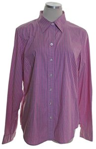 Izod Button Down Shirt Pink