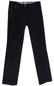 Boden Straight Pants Black
