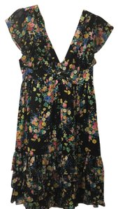 Adele fado short dress Floral on Tradesy