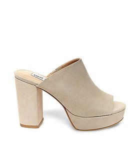 Steve Madden Nude Mules