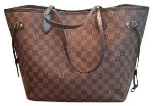 Louis Vuitton Neverfull Mm Tote in Brown, Tan