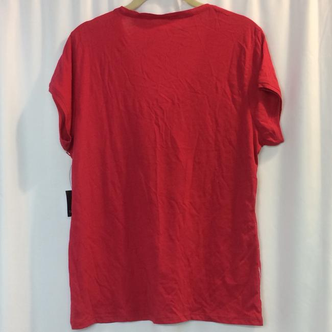 Tahari T Shirt Red