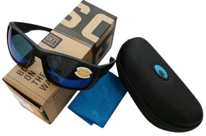 Costa Del Mar Costa Del Mar CZ01OBMP Black Frame Blue Lens Polarized Sunglasses