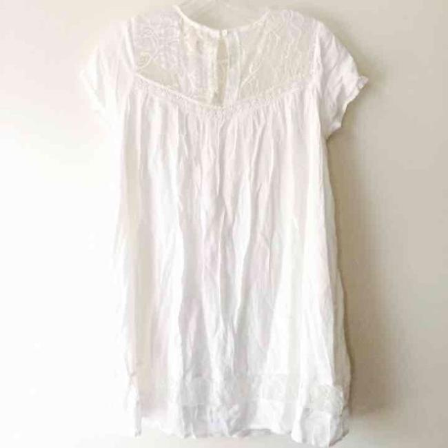 One Clothing short dress White on Tradesy