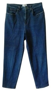 Talbots Designer Classic Casual Straight Leg Jeans-Medium Wash