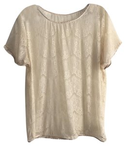 American Apparel Top Cream