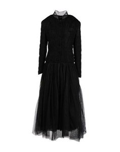 Jean-Paul Gaultier Longsleeve Tulle Maxi Party Dress